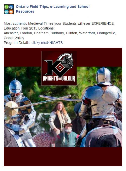 Facebook-ADS-medieval-times