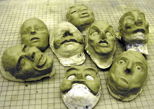 clay-mask-making
