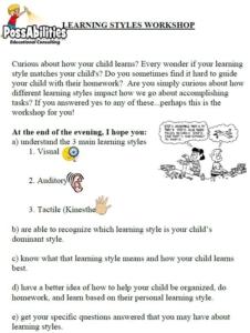 Learning Styles Workshop.JPG