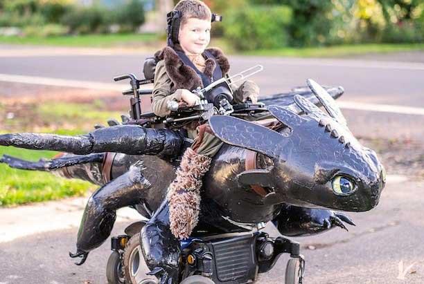 dragon-wheelchair