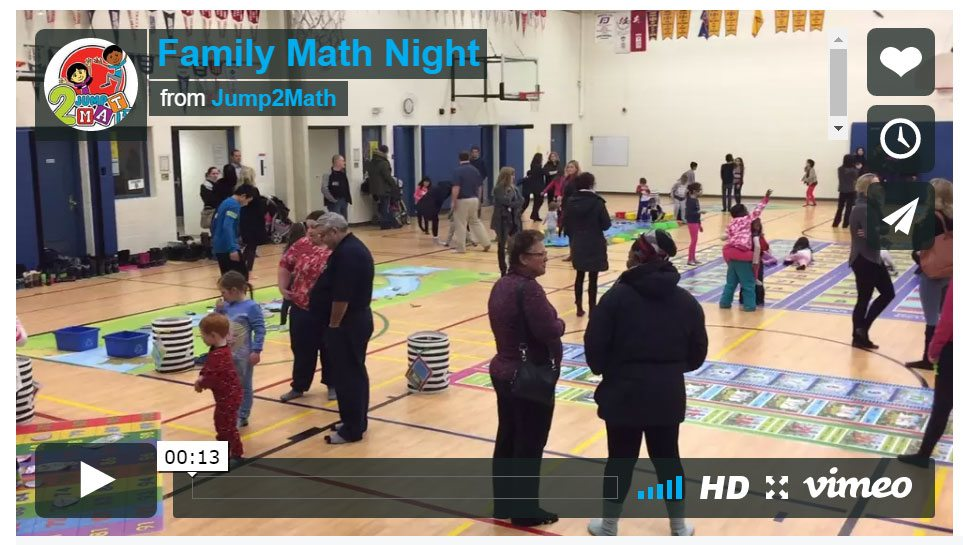 kinesthetic math night
