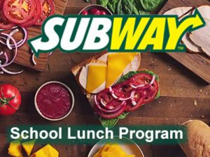 subway lunch program